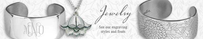 Pewter Bracelets and Jewelry